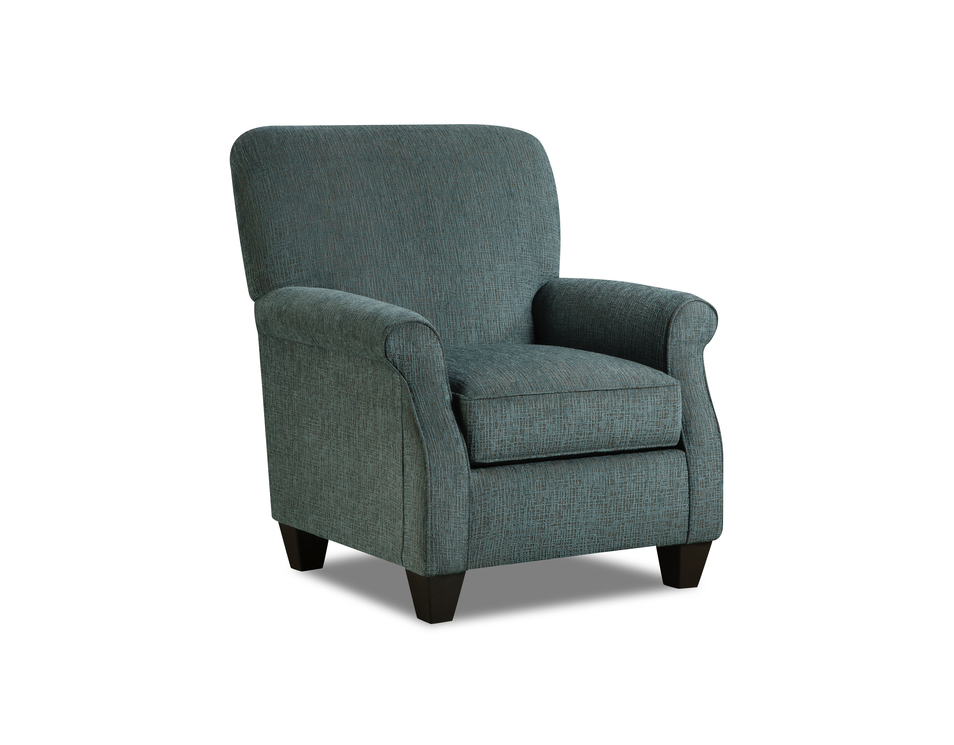 1030 Perth Teal Accent Chair American Furniture