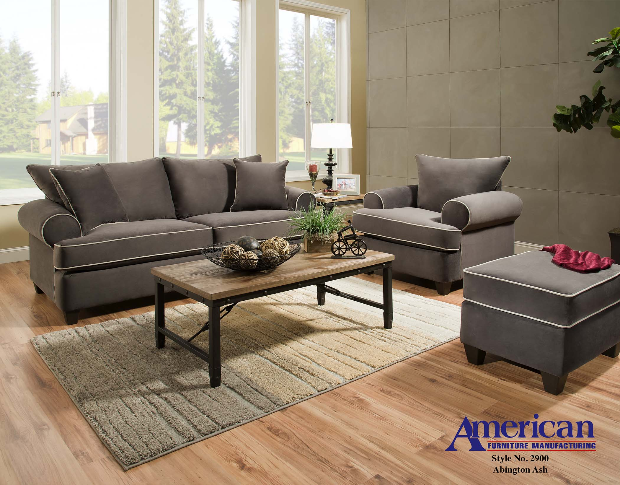 2900 – Abbington Antler – American Furniture Manufacturing